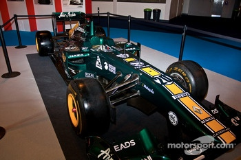 Caterham 2012 F1 car Display