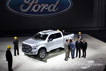 Ford Atlas, Press Conference