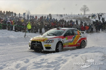 Joan Font and Oriol Julia, Mitsubishi Evo X