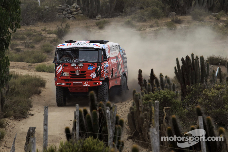 #503 Tatra: Ales Loprais, Serge Bruynkens, Radim Pustejovsky