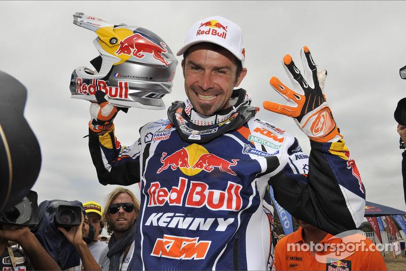 Bike winner Cyril Despres