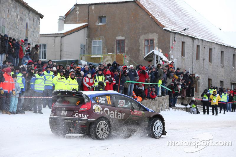 Thierry Neuville and Nicolas Gilsoul, Ford Fiesta WRC, Qatar M-Sport WRT