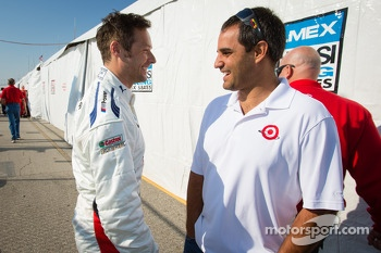 Andy Priaulx and Juan Pablo Montoya