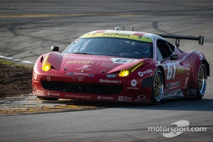 #61 R.Ferri/AIM Motorsport Racing with Ferrari Ferrari 458: Max Papis, Jeff Segal, Toni Vilander, Giancarlo Fisichella