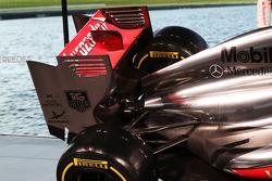 McLaren MP4-28 rear wing
