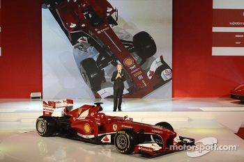 Luca di Montezemolo with the Ferrari F138