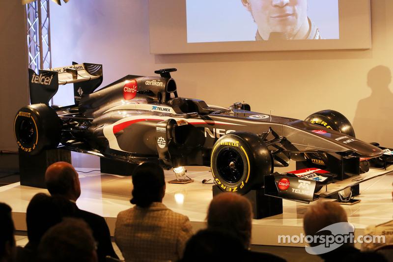 The new Sauber C32