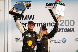 ST podium: class winners Lara Tallman and Vesko Kozarov