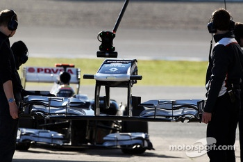 Pastor Maldonado, Williams changes his front wing