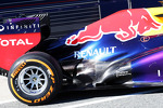 Red Bull Racing RB9 rear suspension and exhaust