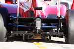 Ferrari F138 rear diffuser