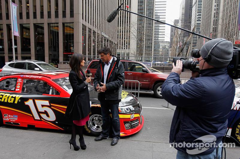 Michael Waltrip is interviewed on Fox News