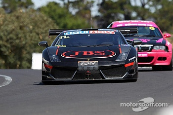 #11 Lamborghini LP560: Roger Lago, David Russell, Peter Kox