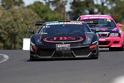 #11 Lamborghini LP560: Roger Lago, David Russell, Peter Kox