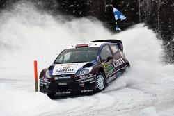 Evgeny Novikov and Ilka Minor, Ford Fiesta WRC, Qatar M-Sport WRC