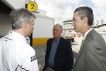 Jens Marquardt, Head of BMW Motorsport, James C. France, NASCAR Vice Chairman/Executive Vice President, Ed Bennett, Vice President and Chief Administrative Officer NASCAR / Chief Executive Officer, GRAND-AM