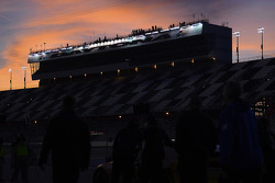 The sun sets on Daytona