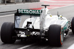 Nico Rosberg, Mercedes AMG F1 W04 rear diffuser