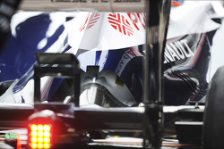 Williams FW35 engine cover detail