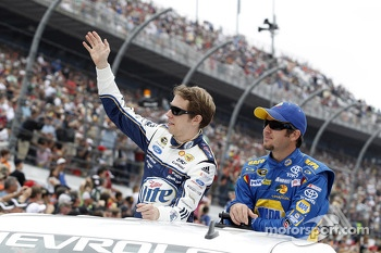 Brad Keselowski and Martin Truex Jr.