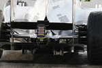Mercedes AMG F1 W04 rear suspension and rear diffuser
