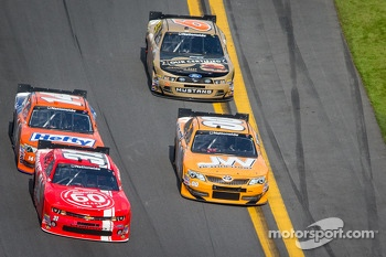 Justin Allgaier, Jason White, Eric McClure and Trevor Bayne