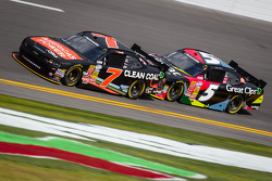 Regan Smith and Kasey Kahne