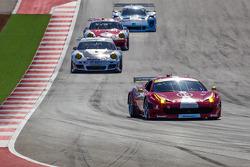 #63 Scuderia Corsa Ferrari 458: Alessandro Balzan, Alessandro Pier Guidi