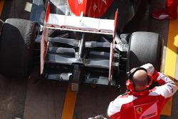 Ferrari F138 rear wing