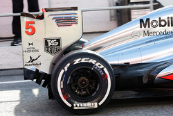 McLaren MP4-28 rear wing