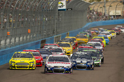 Restart: Dale Earnhardt Jr. leads