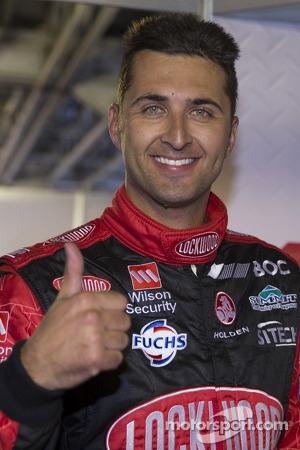 Polesitter Fabian Coulthard, Lockwood Racing