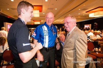 Unified Sports Car Series press conference: Chris Dyson, Rob Dyson and Dr. Don Panoz