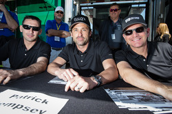 Andy Lally, Patrick Dempsey, Joe Foster