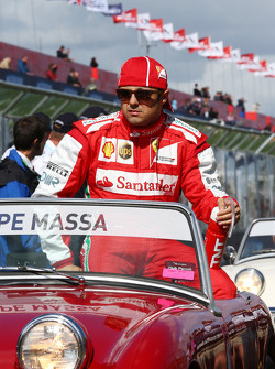 Felipe Massa, Ferrari on the drivers parade