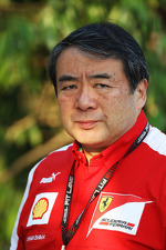 Hirohide Hamashima, Ferrari Tyre Engineer