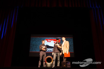 Drivers presentation: James Jakes, Rahal Letterman Lanigan Racing Honda and Graham Rahal, Rahal Letterman Lanigan Racing Honda