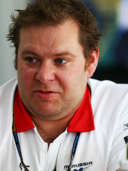 Dave Greenwood, Marussia F1 Team Race Engineer
