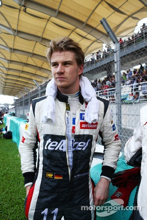 Nico Hulkenberg, Sauber on the grid