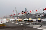 Start of the Pirelli World Challenge race #2