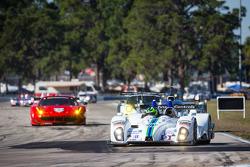 #9 RSR Racing Oreca FLM09 Oreca: Bruno Junqueira, Alex Popow, Duncan Ende