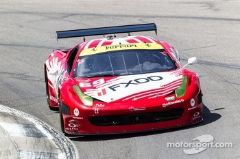AIM Autosport Team FXDD with Ferrari Ferrari 458: Emil Assentato, Anthony Lazzaro