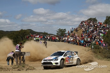 Andreas Mikkelsen, Ola Floene, Volkswagen Polo WRC, Volkswagen Motorsport