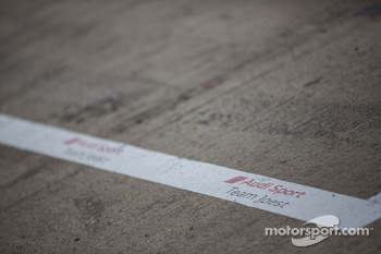 Audi pit stall