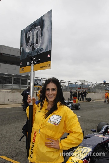Gridgirl of Tom Blomqvist