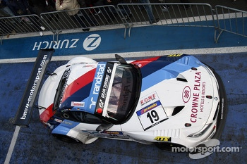 The winning car of Dirk Müller, Jörg Müller, Augusto Farfus Jr., BMW Team Schubert, BMW Z4 GT3