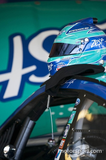 Helmet of Ricky Stenhouse Jr., Roush Fenway Racing Ford