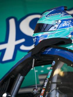 Helmet of Ricky Stenhouse Jr., Roush Fenway Racing Ford