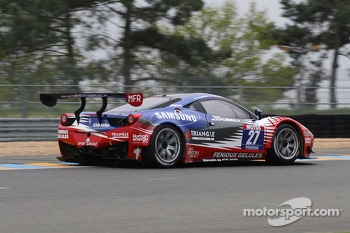 #27 Sport Garage Ferrari 458 Italia: Eric Cayrolle, Jacques Villeneuve 