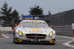 #6 ROWE RACING, Mercedes-Benz SLS AMG GT3: Michael Zehe, Marko Hartung, Mark Bullitt, Reinhold Renger